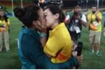 Những màn cầu hôn lãng mạn nhất Olympic Rio