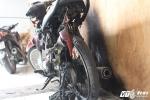 13 giang hồ xăm trổ xông vào nhà đập phá, ném bom xăng, đốt xe máy: Chủ vựa dừa lại kêu cứu