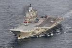 Ảnh: Dàn chiến hạm nổi, ngầm của Nga tiến gần bờ biển nước Anh