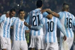 Trực tiếp Argentina vs Chile: Dàn sao Messi, Higuain trả hận