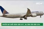 Chuyến bay khởi hành năm 2017, hạ cánh năm 2016 xôn xao dân mạng