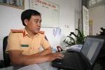 CSGT Đà Nẵng 'lướt phây' xử lý xe vi phạm