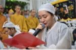 Vợ con khóc nức nở trong giây phút tiễn biệt nghệ sĩ Thanh Sang