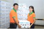 Táo tươi chính gốc Aomori - Nhật Bản được Intimex nhập về Việt Nam