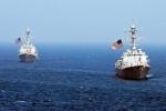 Chiến hạm Mỹ di chuyển gần đảo nhân tạo Trung Quốc trên Biển Đông