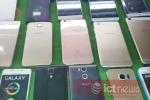 La liệt iPhone 6S, Note 5 'giá bèo' ở cửa khẩu Tân Thanh
