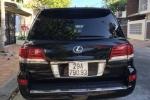 Phó Chủ tịch Hậu Giang mượn xe Lexus, gắn biển xanh để tiện công tác