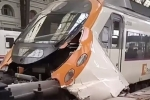 Tàu lao vào nhà ga ở Tây Ban Nha, hàng chục người bị thương