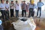 Chưa tìm được đối tác xử lý 700 tấn bùn thải của Formosa