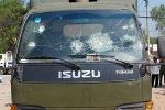 Nhiều người đập phá xe chuyên dụng của CSGT Đồng Nai