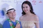 Xuân Bắc ngượng ngùng khi đứng cạnh Hoa hậu Biển Thùy Trang