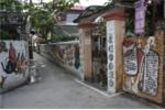 Ảnh: Bức tranh tường 'độc nhất vô nhị' của cụ ông 94 tuổi ở Hà Nội