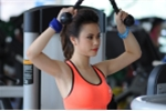 Ngắm hot girl Hà thành xinh đẹp khoe dáng gợi cảm trong trang phục thể thao