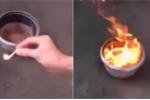 Kỳ lạ 50 giếng nước bốc mùi dầu hỏa, cháy ngùn ngụt