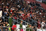 Chửi trọng tài, ném đá đội bạn, hooligan Việt Nam làm bẩn bóng đá nước nhà