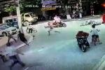 Cảnh sát hình sự bắt cướp như phim trên đường phố Thái Bình