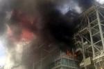 Cháy lớn ở Nhà máy nhiệt điện Phả Lại
