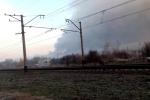 Cháy khủng khiếp ở kho vũ khí lớn nhất Ukraine