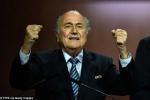 Đánh bại hoàng tử Ali, Sepp Blatter tái đắc cử chủ tịch FIFA