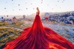 Sững sờ trước bộ ảnh quá đỗi long lanh chụp các cô gái trong những bộ váy lộng lẫy giữa đất trời