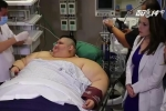 Người đàn ông béo nhất thế giới lên bàn mổ sau 7 năm nằm liệt giường