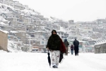 Mùa đông chết chóc ở Afghanistan, hơn 100 người thiệt mạng vì tuyết