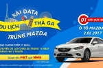 Cơ hội trúng Mazda6 khi đăng ký gói truy cập Facebook không giới hạn dung lượng của MobiFone