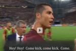 Ronaldo thể hiện tư chất đội trưởng tuyệt vời