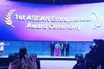 Diễn đàn kiến thức thế giời vinh danh Chủ tịch HĐQT SeABank và Tập đoàn BRG là 'Doanh nhân tiêu biểu ASEAN 2016'