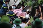 Nhà sập vùi lấp nhiều người ở Hà Nội: 2 nạn nhân đã tử nạn
