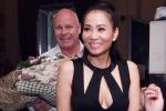 Thu Minh cùng chồng tỷ phú đến chúc mừng Mr. Đàm
