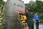Hội hữu nghị Việt Nam - Liên bang Nga đặt lẵng hoa kỷ niệm 147 năm ngày sinh Lenin