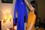 Video: Hoa hậu Kỳ Duyên háo hức tham gia diễu hành đại lễ 2/9