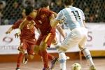 Tuyển Futsal Việt Nam thua đầy tiếc nuối trước Argentina