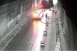 Xuống xe cảnh báo tai nạn trong hầm, người đàn ông bị ô tô đâm chết