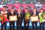 Tuyển Futsal Việt Nam, U19 Việt Nam nhận bằng khen của Thủ tướng