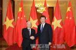 Lãnh đạo Việt - Trung trao đổi điện mừng 67 năm thiết lập quan hệ ngoại giao