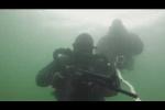 Mãn nhãn xem lính Nga trình diễn tuyệt kỹ bắn súng, đánh giáp lá cà dưới nước