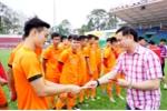 Lãnh đạo VFF lì xì lấy may các cầu thủ U23 Việt Nam