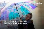 Ô thông minh biết dự báo thời tiết, không bao giờ lo mất