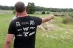 Thử bắn súng săn và cái kết thê thảm