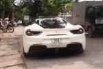 Siêu xe Ferrari 488 GTB của Cường Đô la bất ngờ ra biển Hà Nội