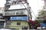 Gần 80 hộ dân sợ hãi sống trong khu nhà nghiêng chờ sập giữa Thủ đô