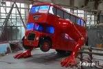 Xe buýt 2 tầng biến thành robot khổng lồ