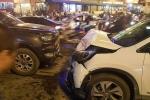 Ô tô đi ngược chiều tông liên hoàn trên phố Hà Nội: Thông tin mới nhất