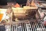Cháy nổ dữ dội ở phố Tây Sài Gòn: Mời một thanh niên lấy lời khai