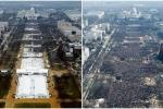 Chênh lệch khó tin giữa số người tham gia lễ nhậm chức của Tổng thống Donald Trump và Barack Obama