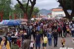 Hàng ngàn người đổ về lễ hội Đống Đa ở Bình Định