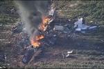Máy bay quân sự Mỹ nổ tung giữa trời, 16 người chết