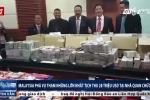 'Núi tiền' tìm thấy trong nhà quan tham Malaysia gây chấn động dư luận
